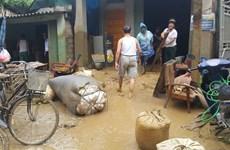 Hỗ trợ hai gia đình nạn nhân thiệt mạng vì mưa lũ ở Lào Cai