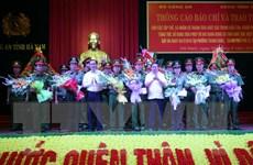 Phá vụ án giết người đặc biệt nghiêm trọng tại tỉnh Hà Nam