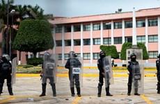 Hãi hùng với các mảnh xác người trước tòa thị chính ở Mexico