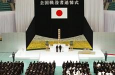 Nhật Bản tổ chức tưởng niệm 71 năm kết thúc Thế chiến II