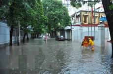 Bão số 3 suy yếu trở thành áp thấp nhiệt đới tại khu vực Hà Nội