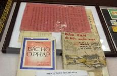 Tiếp nhận hơn 1.150 tư liệu, hiện vật về Chủ tịch Hồ Chí Minh