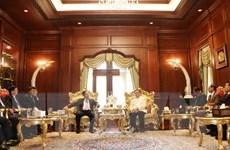 Đoàn Ban Tổ chức Trung ương Đảng thăm các nhà lãnh đạo Lào