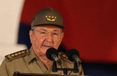 Chủ tịch Cuba Raul Castro gửi điện chúc mừng Quốc khánh Việt Nam