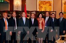 Thủ tướng Nguyễn Xuân Phúc tiếp lãnh đạo các tập đoàn Hong Kong