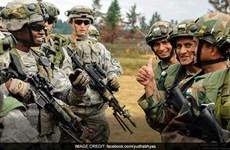"""Ấn Độ và Mỹ bắt đầu cuộc tập trận chung mang tên """"Yudh Abhyas"""""""