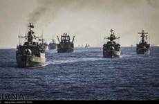 Hạm đội tàu chiến của hải quân Iran thăm hữu nghị Pakistan