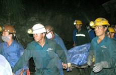 Tìm thấy nạn nhân vụ bục túi nước hầm lò ở Công ty Than Núi Béo