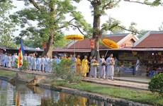 Khai hội chùa Keo mùa Thu 2016 với nhiều nghi thức truyền thống