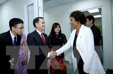 Tổng thư ký Tổ chức quốc tế Pháp ngữ thăm báo Le Courrier du Vietnam