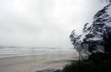 Áp thấp nhiệt đới suy yếu, khu vực Vịnh Bắc Bộ có gió giật cấp 8