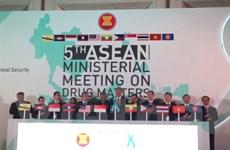 ASEAN hình thành cơ chế hợp tác chống buôn bán và sử dụng ma túy