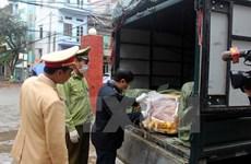 Bắt vụ vận chuyển hàng trăm kg thịt chó, mèo không rõ nguồn gốc