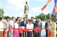 Campuchia khánh thành Đài tưởng niệm Quân tình nguyện Việt Nam