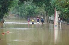 Quảng Bình: Mưa to, hàng trăm nhà dân ngập sâu trong nước
