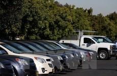 Doanh số bán xe ôtô tại Mỹ sụt giảm trong tháng 10 vừa qua