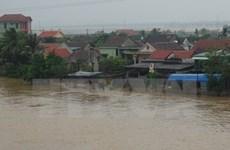 Cảnh báo lũ trên các sông từ tỉnh Nghệ An đến Quảng Bình