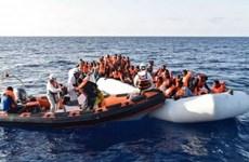 Cứu gần 3.000 người di cư châu Phi trên khu vực Địa Trung Hải