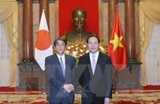 Chủ tịch nước Trần Đại Quang tiếp các Đại sứ đến trình Quốc thư