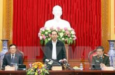 Chủ tịch nước: Khẩn trương truy bắt tội phạm lẩn trốn ở nước ngoài