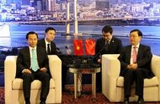 Ủy viên trưởng Nhân đại Trung Quốc Trương Đức Giang thăm Đà Nẵng