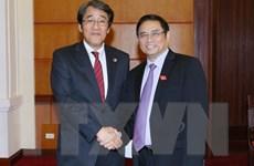 Tăng cường quan hệ hợp tác toàn diện giữa Việt Nam-Nhật Bản