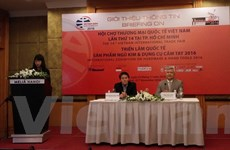 520 doanh nghiệp sẽ tham gia Vietnam Expo 2016 tại TP. Hồ Chí Minh