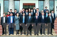 Thủ tướng giải đáp về TPP, ông Vũ Huy Hoàng với cử tri Hải Phòng