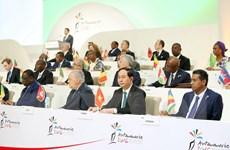 Chủ tịch nước dự lễ bế mạc Hội nghị Cấp cao Pháp ngữ lần thứ 16