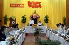 Đoàn kiểm tra của Bộ Chính trị làm việc với Thành ủy Đà Nẵng