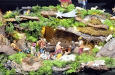 Độc đáo triển lãm tác phẩm về cảnh Giáng sinh 2016 tại Rome