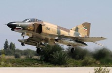 Iran tiến hành tập trận phòng không quy mô lớn ở miền Nam