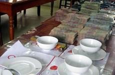 Công an thành phố Hà Nội liên tiếp triệt xóa các ổ nhóm đánh bạc