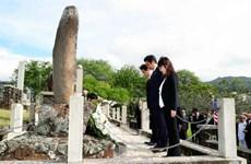 Bộ trưởng Quốc phòng Nhật Bản Tomomi Inada thăm đền Yasukuni