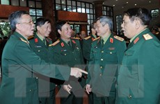 Bộ Quốc phòng gặp mặt cán bộ cao cấp nghỉ hưu, nghỉ công tác