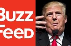 BuzzFeed bị tố vô trách nhiệm khi công bố hồ sơ về ông Trump