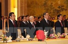 Gặp gỡ hữu nghị chào mừng kỷ niệm 67 năm thiết lập quan hệ Việt-Trung