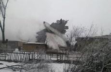 Kyrgyzstan để tang các nạn nhân của vụ tai nạn máy bay vận tải