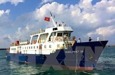Bình Thuận tăng chuyến tàu khách từ Phan Thiết ra đảo Phú Quý