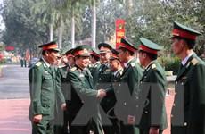 Kiểm tra công tác sẵn sàng chiến đấu và chúc Tết chiến sỹ Lữ đoàn 205