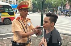 Hà Nội ra quân đảm bảo trật tự an toàn giao thông Xuân 2017