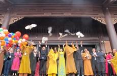 Hàng nghìn phật tử và du khách thập phương về khai hội chùa Bái Đính