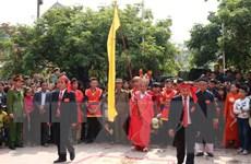 Không tổ chức chém lợn giữa sân đình tại lễ hội làng Ném Thượng
