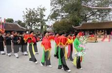 Phú Thọ: Tưng bừng khai hội Đền Mẫu Âu Cơ ở xã Hiền Lương