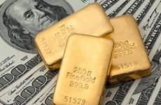 """Nhu cầu tăng, giá vàng thế giới đạt mức """"đỉnh"""" trong ba tháng"""