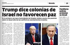 Một tờ báo đăng nhầm ảnh ông Trump với diễn viên Hollywood