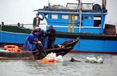 Năm ngư dân của tỉnh Bà Rịa-Vũng Tàu đang mất tích trên biển