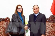 Thủ tướng Nguyễn Xuân Phúc tiếp Đại sứ Israel Meirav Eilon Shahar