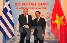 Việt Nam-Hy Lạp nhất trí tạo điều kiện cho cộng đồng doanh nghiệp