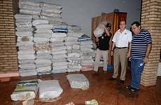 Phát hiện 30 tấn tiền bolivar của Venezuela tại căn nhà ở Paraguay